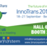 Visit Binary System at Innotrans!