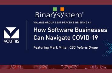 Webinar Volaris - Binary System tra gli speaker