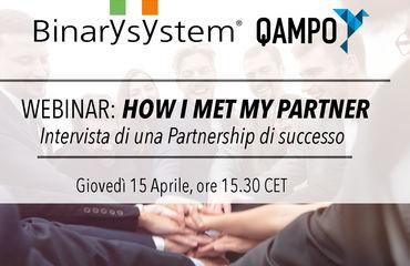 Webinar Binary e Qampo - How I met my Partner