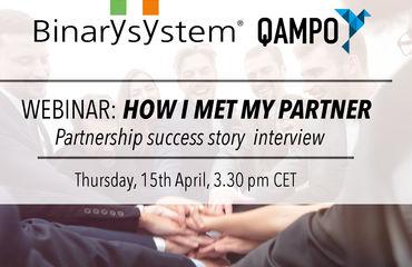 Binary and Qampo Webinar - How I met my Partner