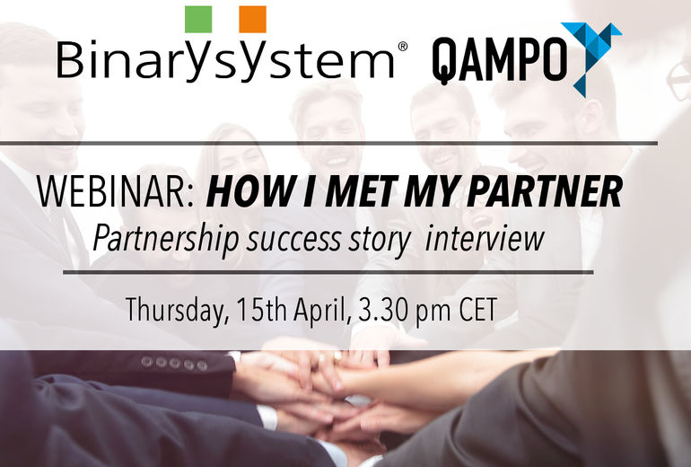 Webinaire Binary et Qampo - How I met my Partner