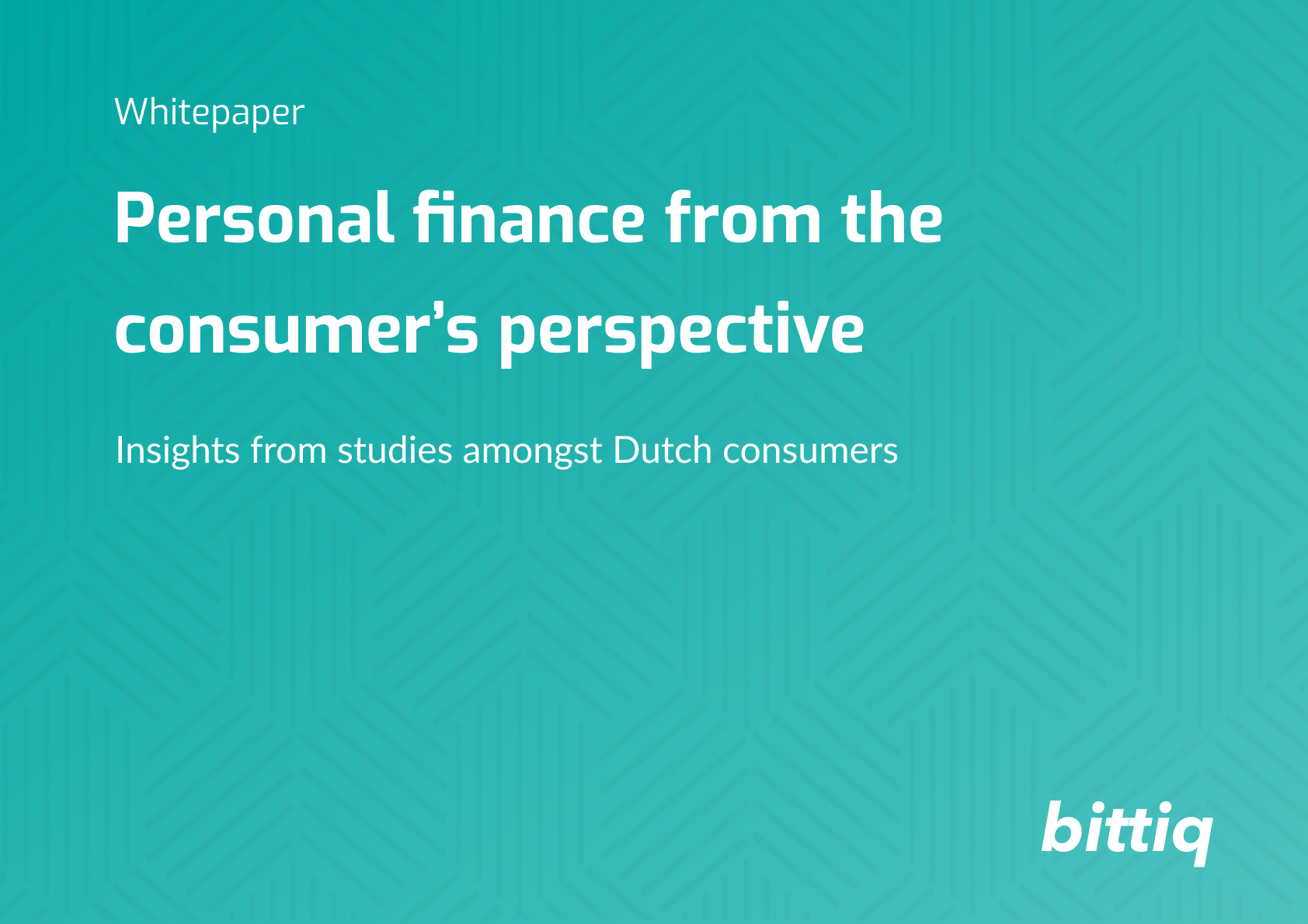 Whitepaper - Personal finance from the consumer's perspective