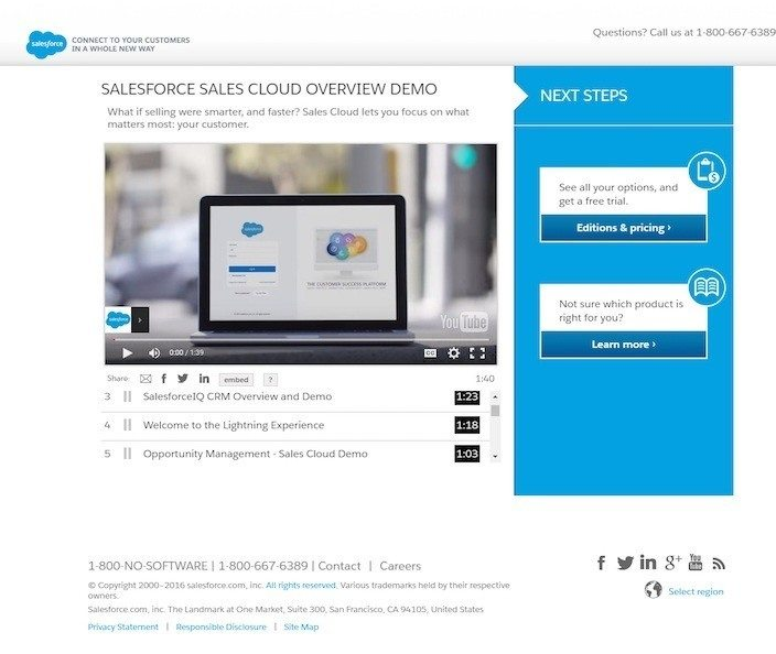 20 Video Landing Page Examples That Show You How to Convert