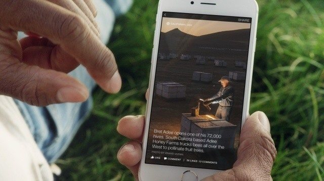 This picture shows marketers how Facebook Instant Articles can help advertisers earn more sales with fullscreen video, captions, and more.