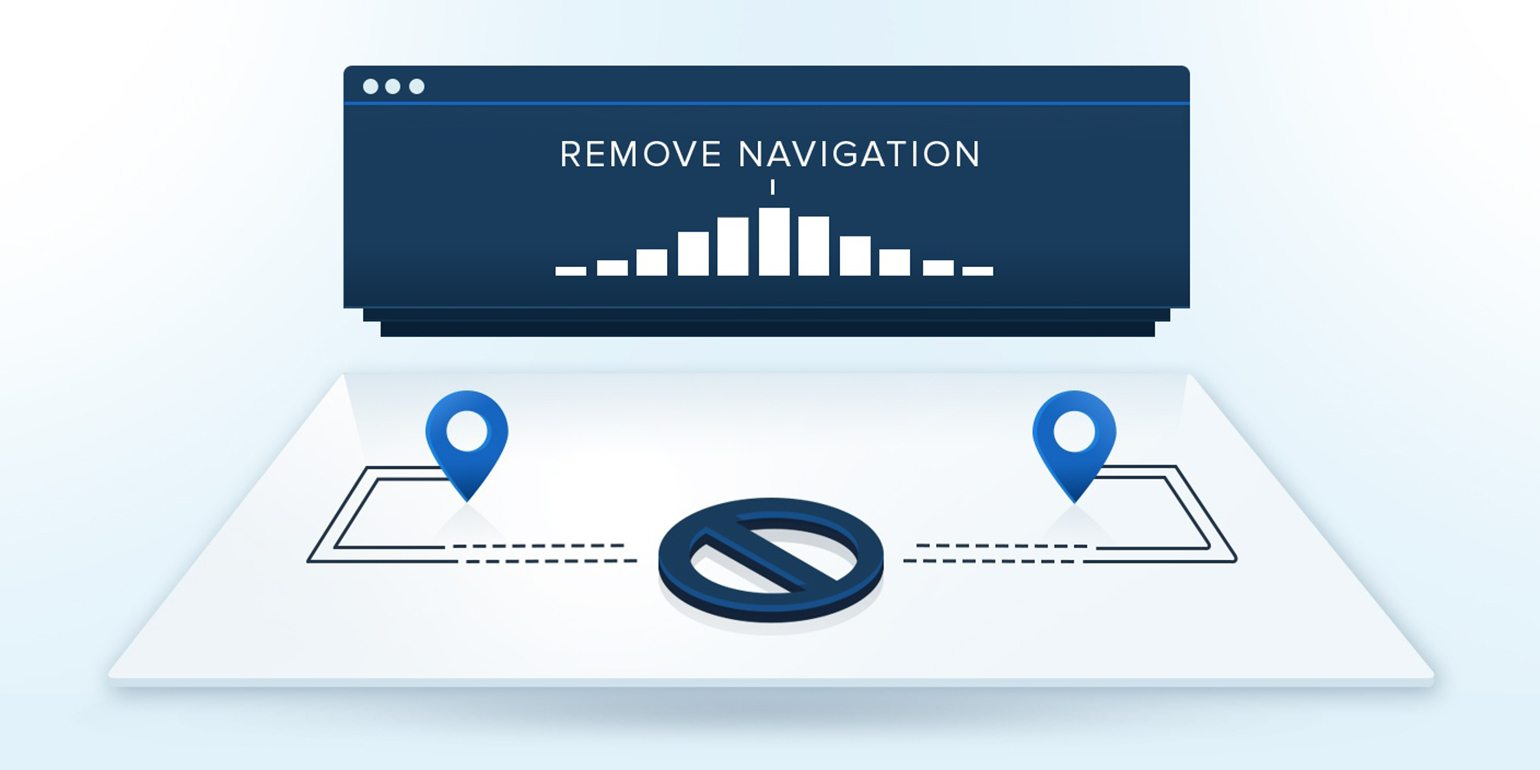 Fact: Navigation Links Kill Your Landing Page Conversion Rate