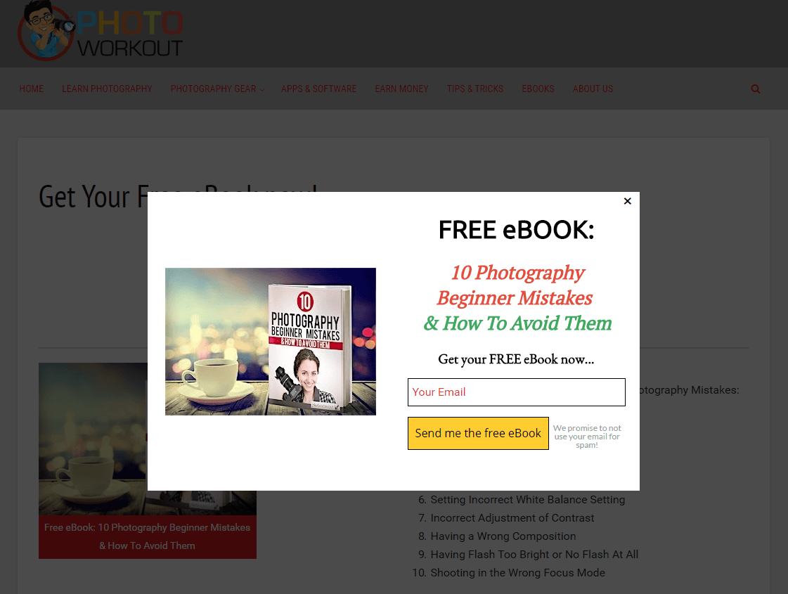 20 Ebook Landing Page Examples Used by Today's Best Brands