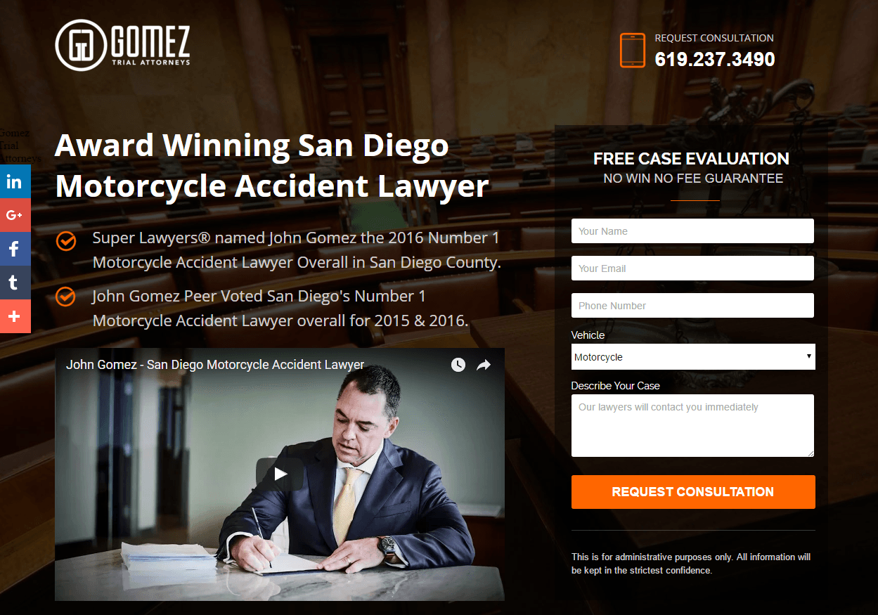 How Legal Landing Pages Are Helping Lawyers Turn Prospects