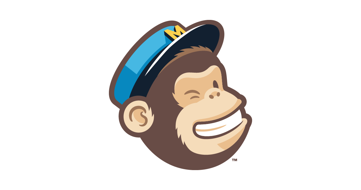 This picture shows how MailChimp uses their logo on post-click landing pages to reinforce their brand and grow sales.