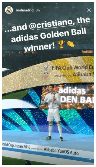 differently e29c8 a4e5c This picture shows marketers how Real Madrid futbol club uses Instagram s  Mention feature to partner with