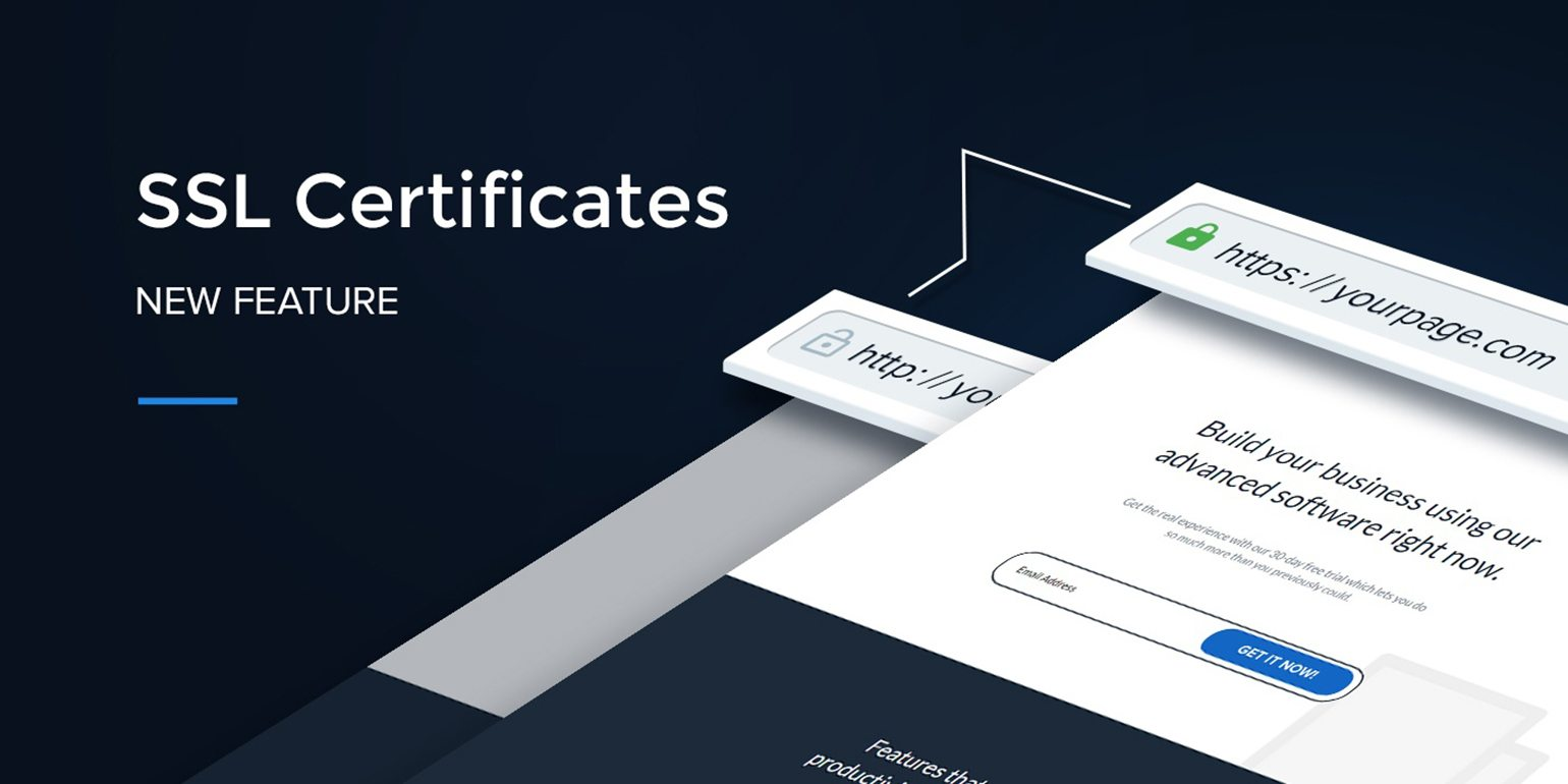 Just Released Ssl Certificates Now Available On All New Plans