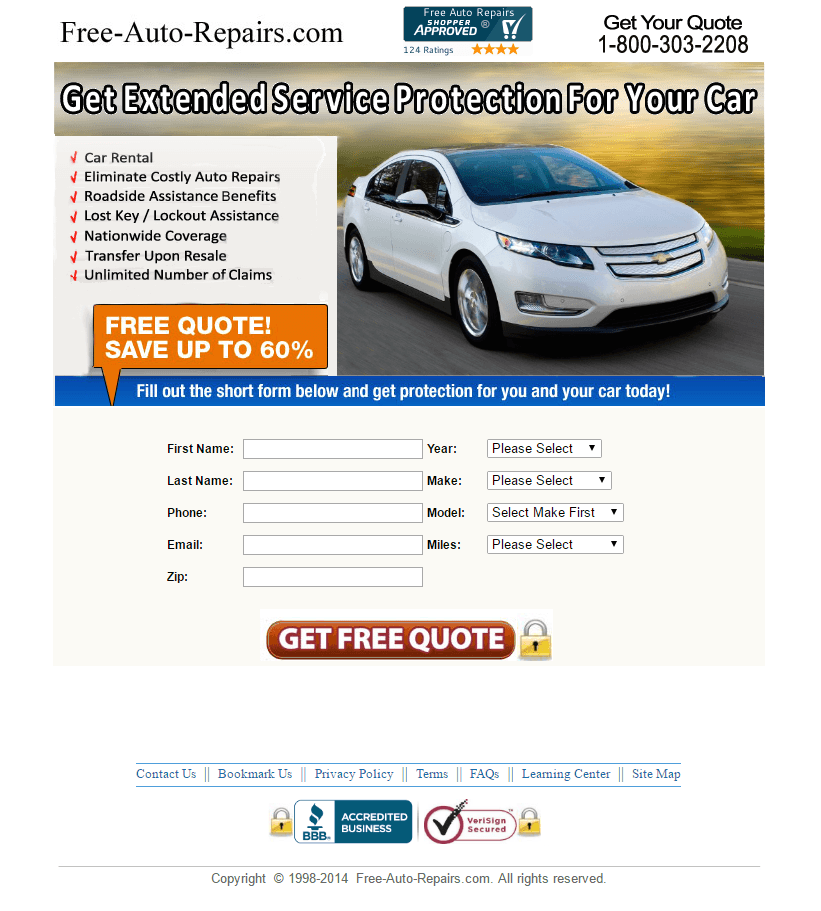 8 Ways The Auto Industry Uses Landing Pages To Move Vehicles And