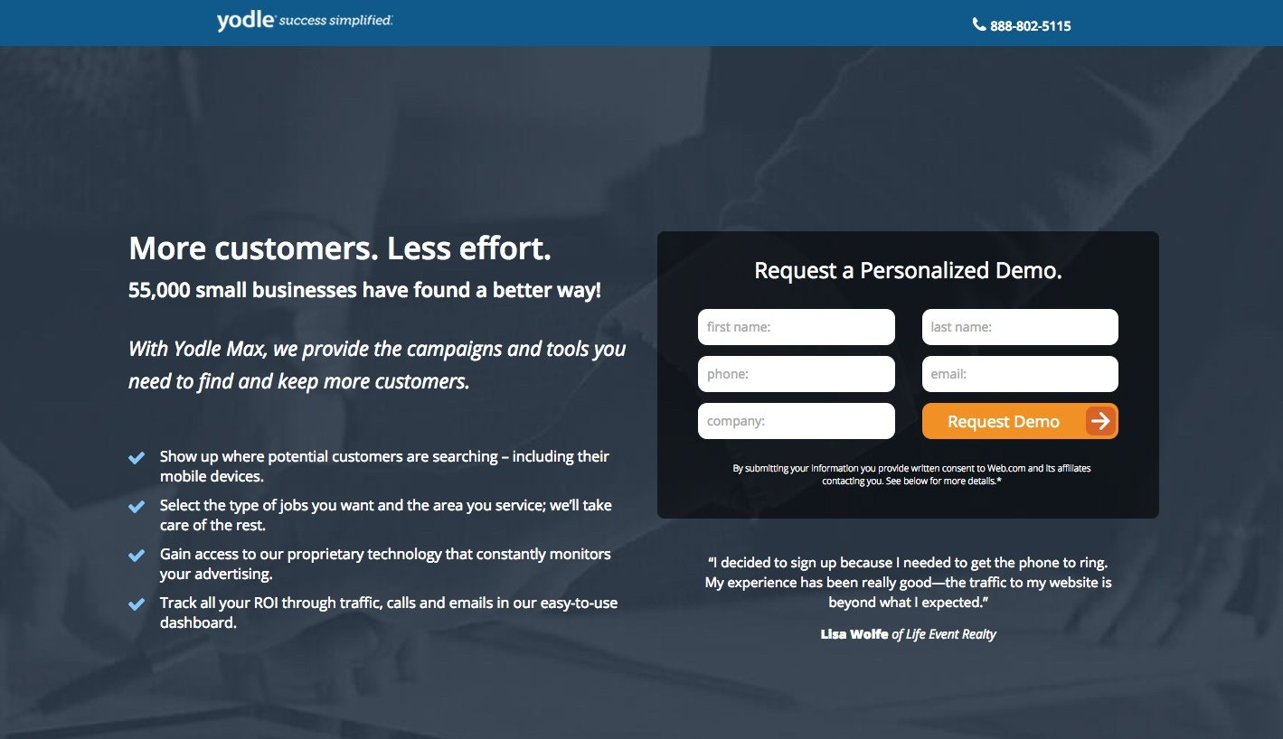 10 Agency Landing Page Examples That Successfully Market to