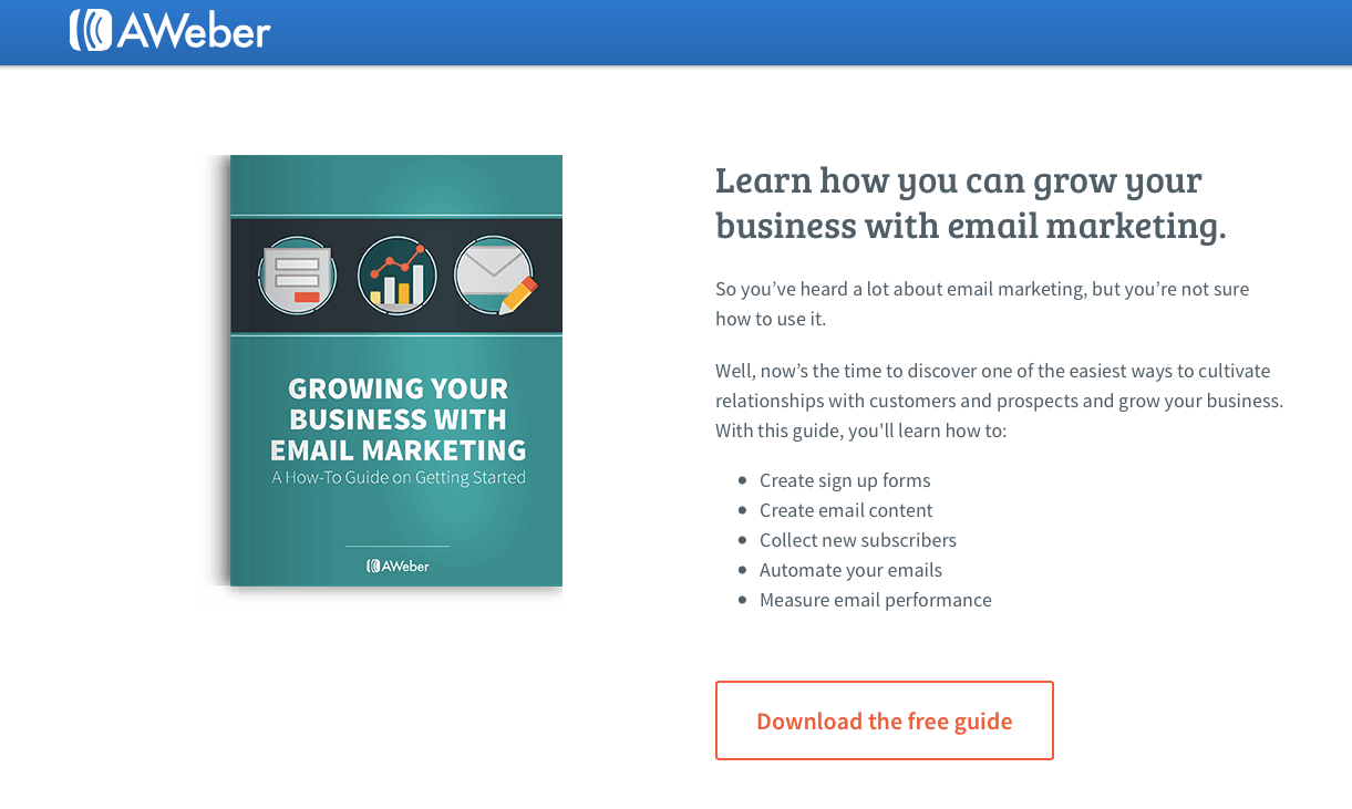 Indicators on Aweber Landing Pages You Need To Know