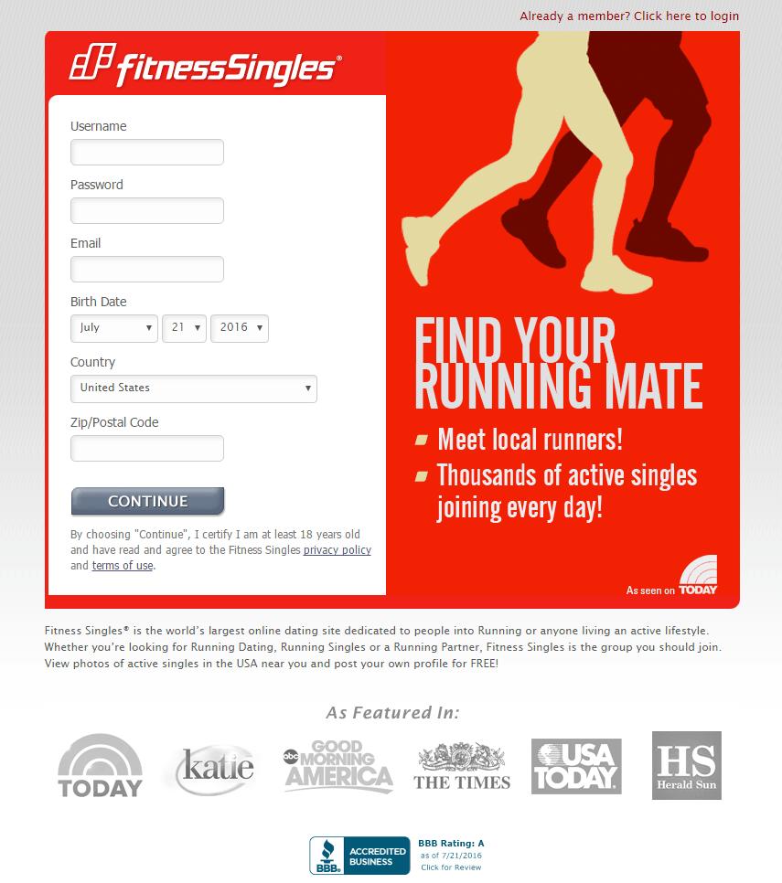 fitness singles cost