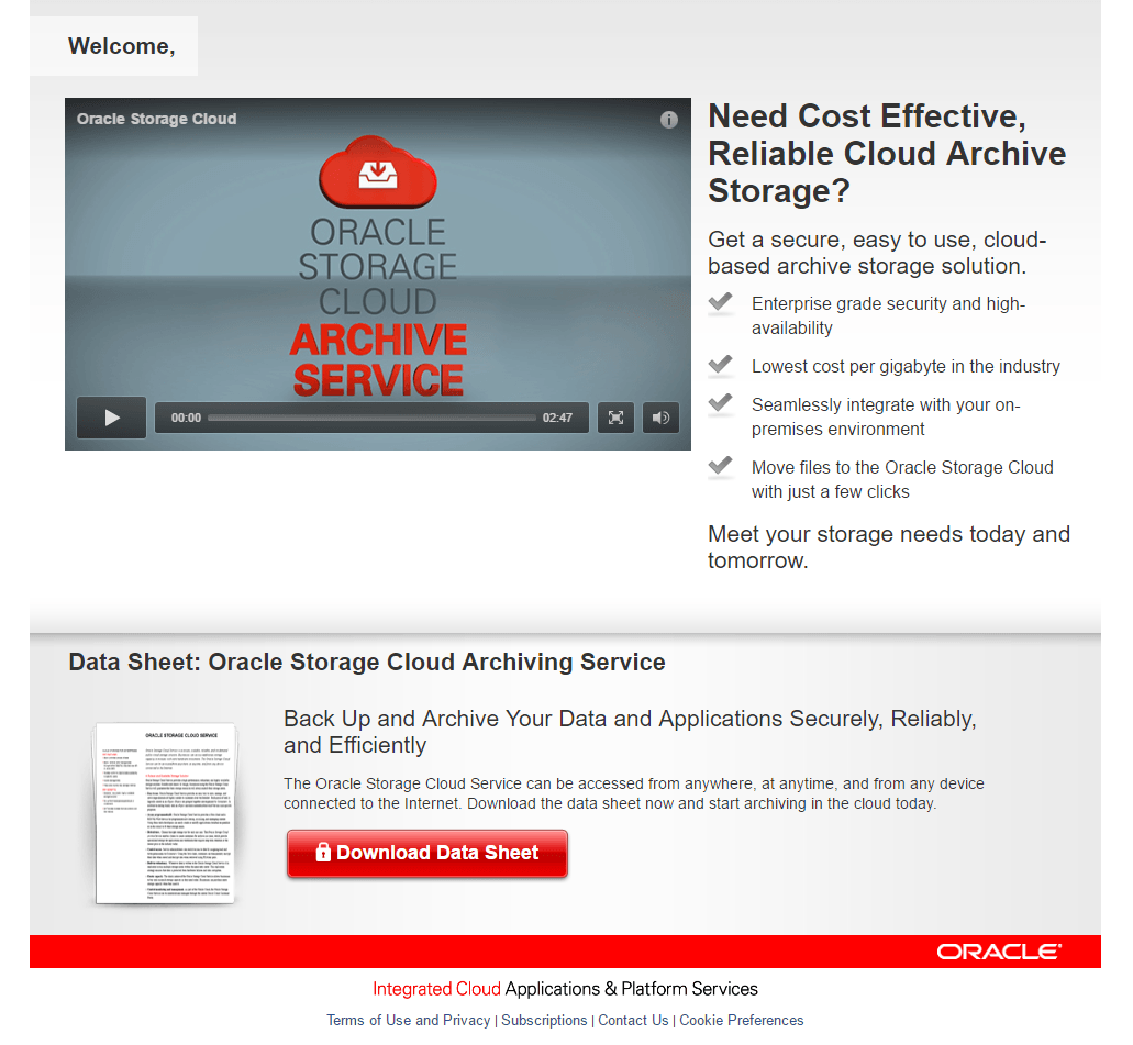 8 Oracle Landing Page Examples That Persuade Visitors to Act
