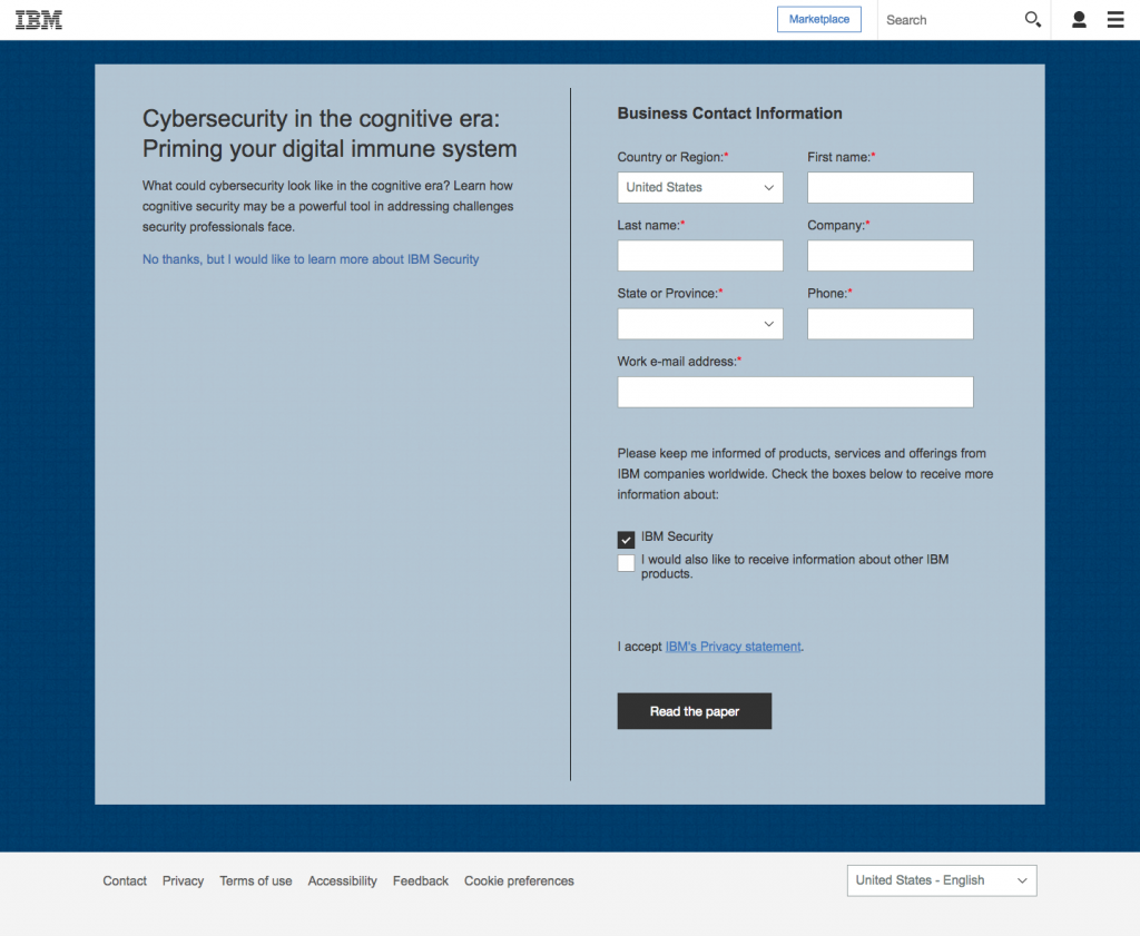 9 IBM Landing Page Examples: How the Tech Giant Optimizes
