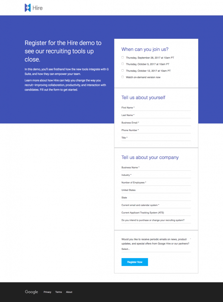 25 of the Best Landing Page Examples from Top Companies to