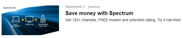 Yahoo ads single image