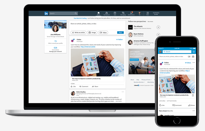 Everything You Should Know about LinkedIn Sponsored Content & More