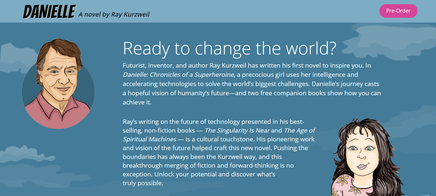 best ecommerce post-click landing pages Ray Kurzweil
