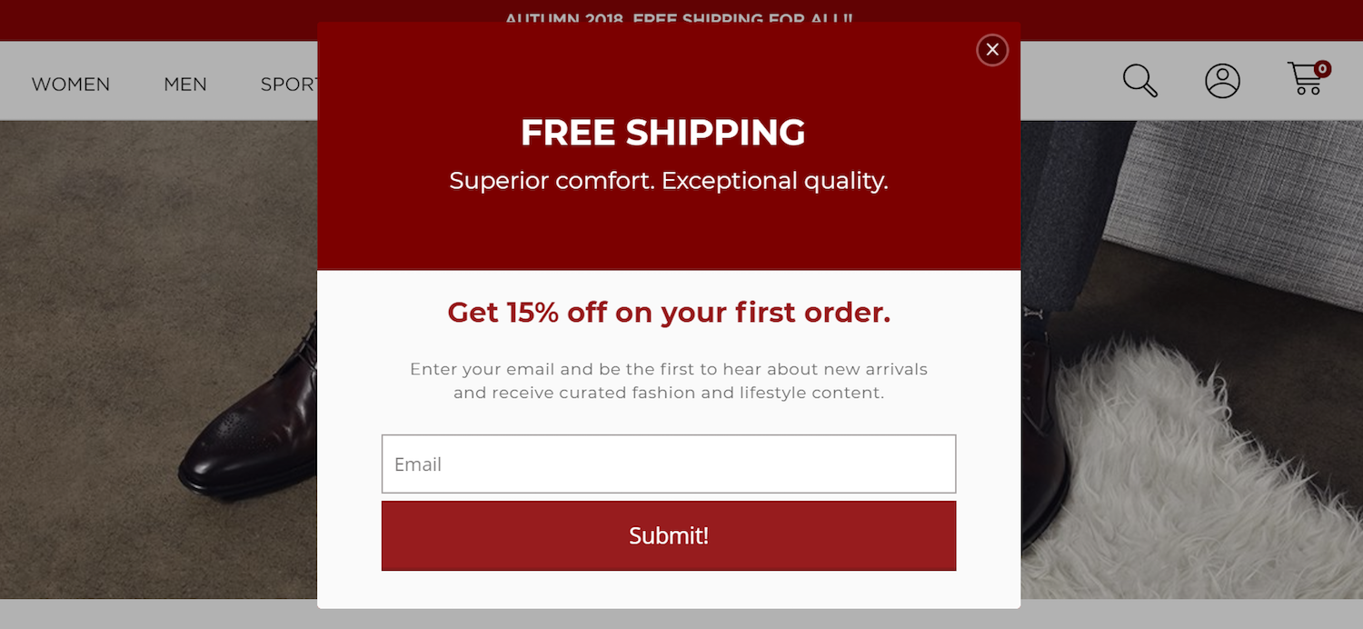 best ecommerce post-click landing pages Tabio USA