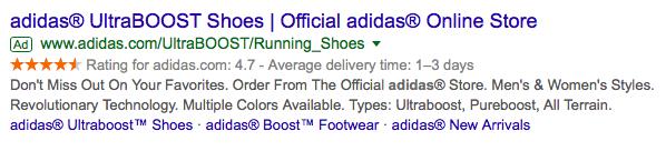Google Er Ratings Adidas