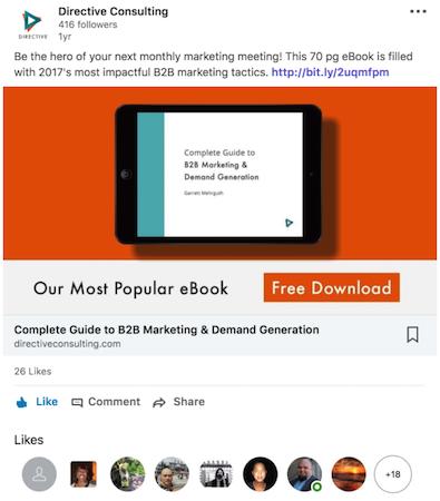 Linkedin Ebook Case Study