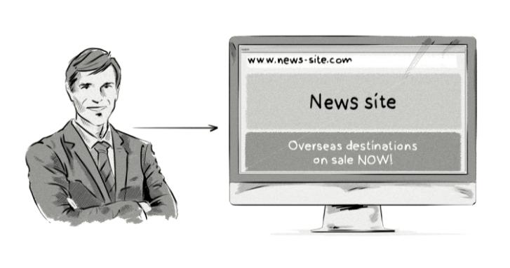 برنامه هدفگذاری تبلیغات رفتاری