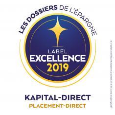 Kapital-direct Label d'Excellence 2019
