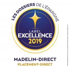 Madelin-direct Label d'Excellence 2019