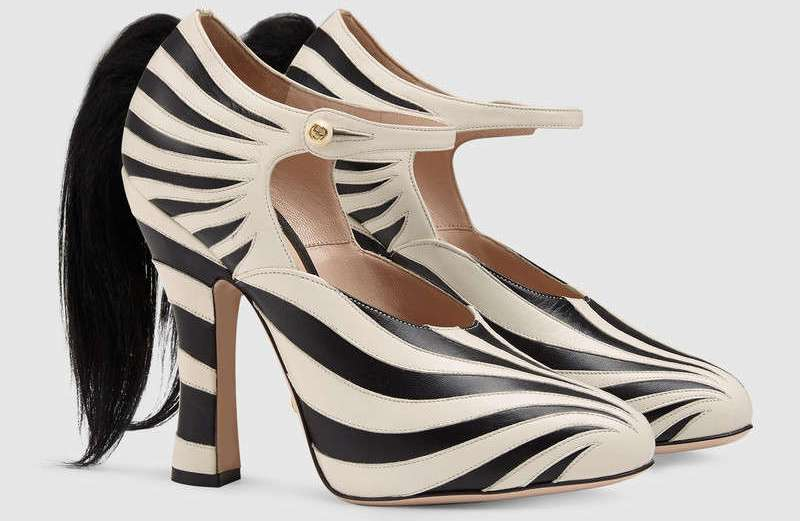 Gucci Zebra Shoes With Tail - Yay or Nay?