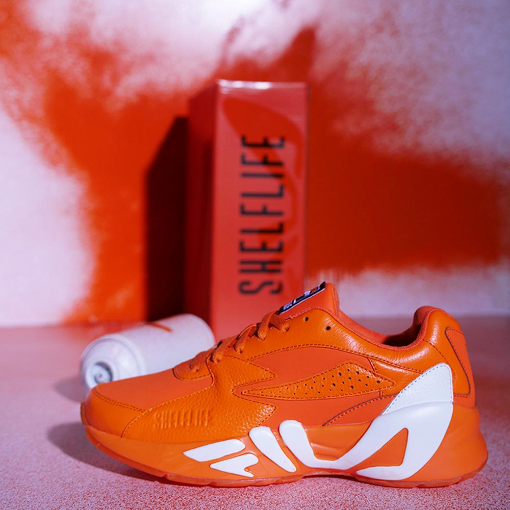 d9c0e8ec5db8 SneakerHeat  FILA Mindblower X Shelflife Collaboration