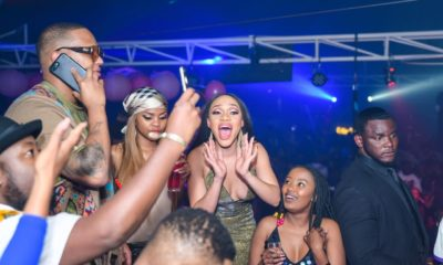 Thando Thabethe's Star Studded Birthday