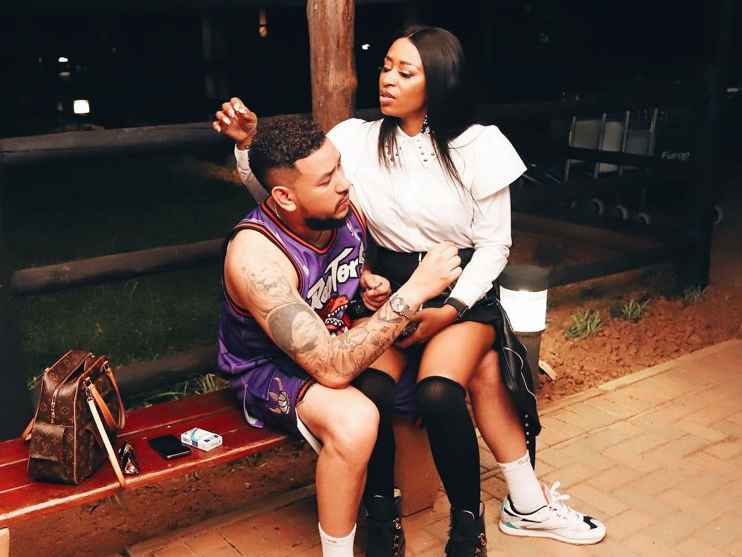 MUST SEE: AKA And DJ Zinhle Spotted Looking Cozy Together