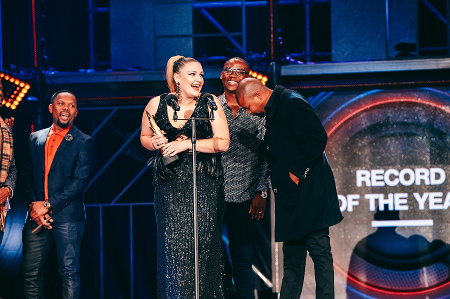 Holley Rey makes her mark at the South African Music Awards