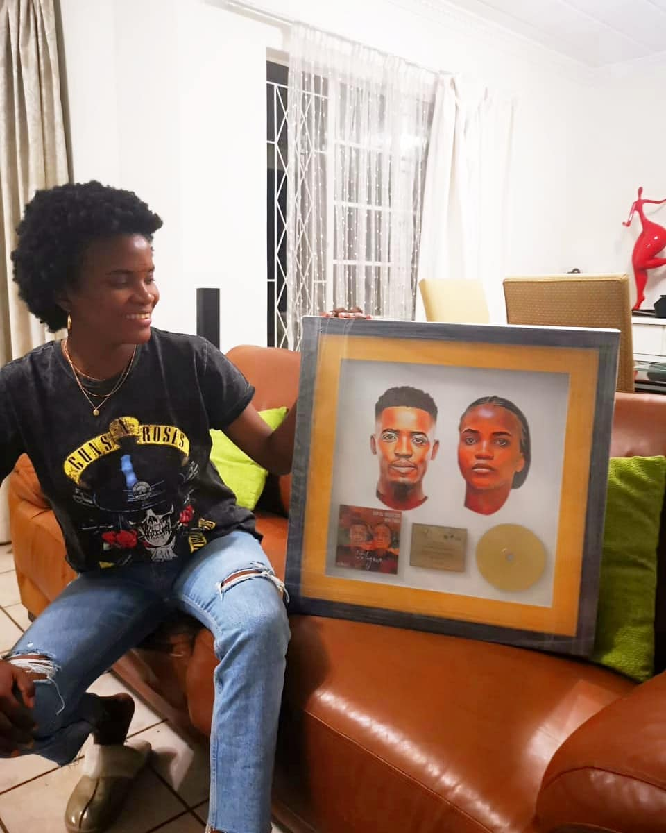 Ami Faku Receives First Gold Plaque For Into Ingawe Ft Sun El Musician