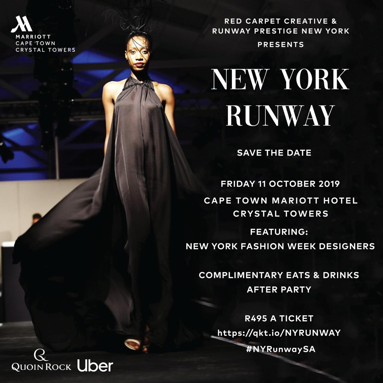 Save The Date For The New York Runway This October Zkhiphani
