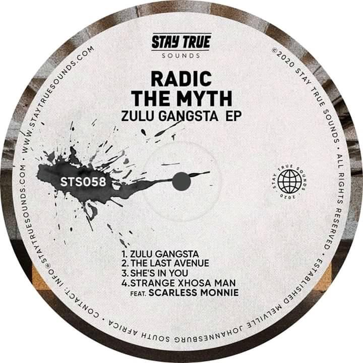 Radic The Myth - Zulu Gangsta cover