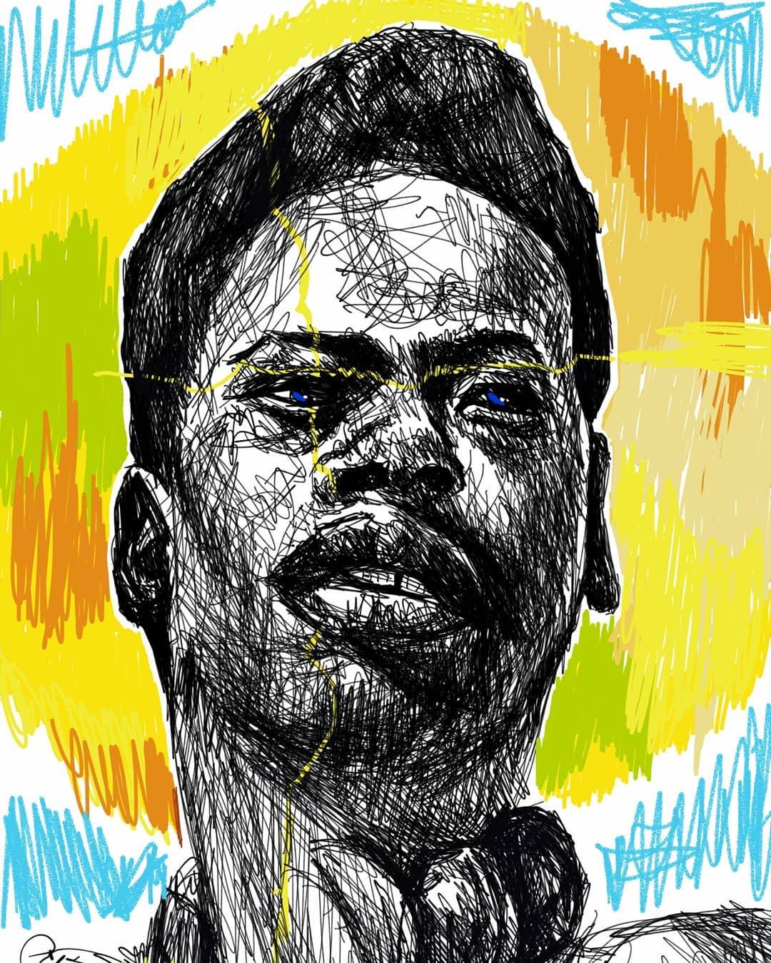 Art by Thato Mahomane