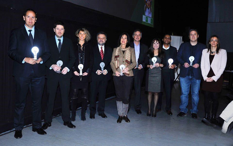 Gabriel Assandri, Gerente División Crop Science Bayer Chile recibió el premio.