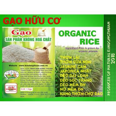 Gạo Hữu Cơ ORGANIC RICEs