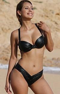 UjENA: X232 2016 Runway Curves Metallic Underwire Bikini