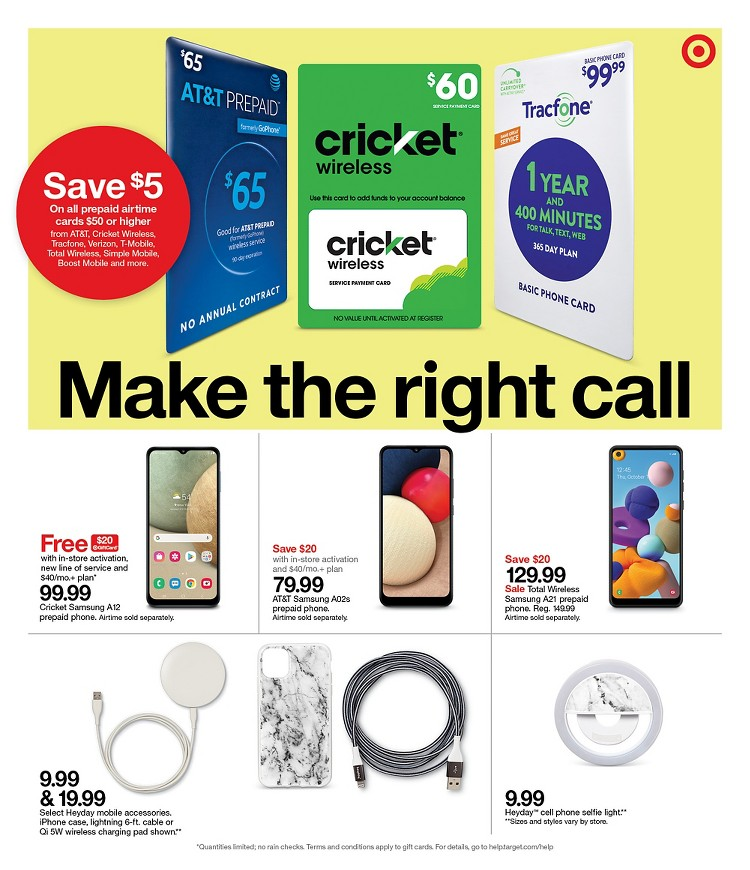 01.08.2021 Target ad 23. page