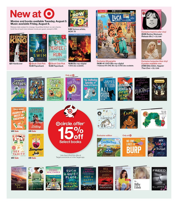 01.08.2021 Target ad 25. page