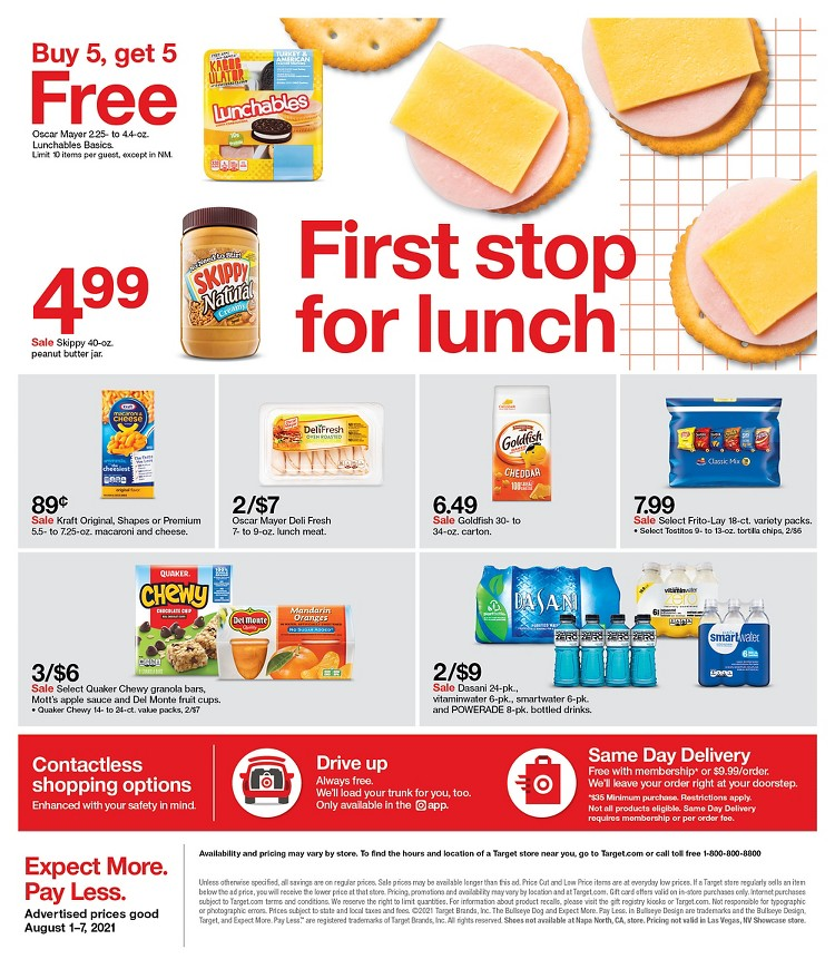 01.08.2021 Target ad 41. page