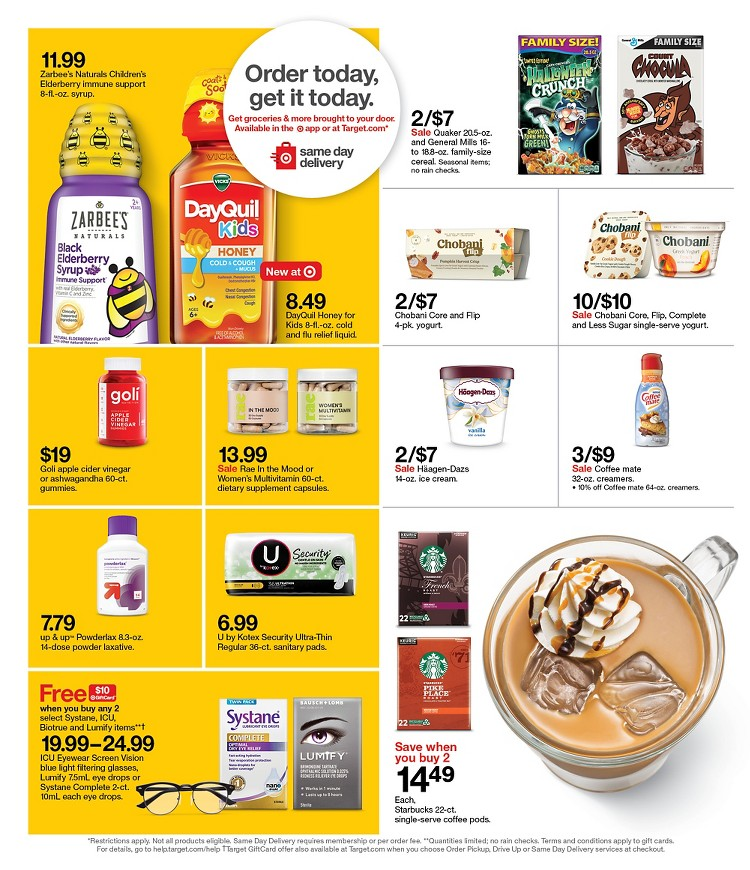 12.09.2021 Target ad 22. page