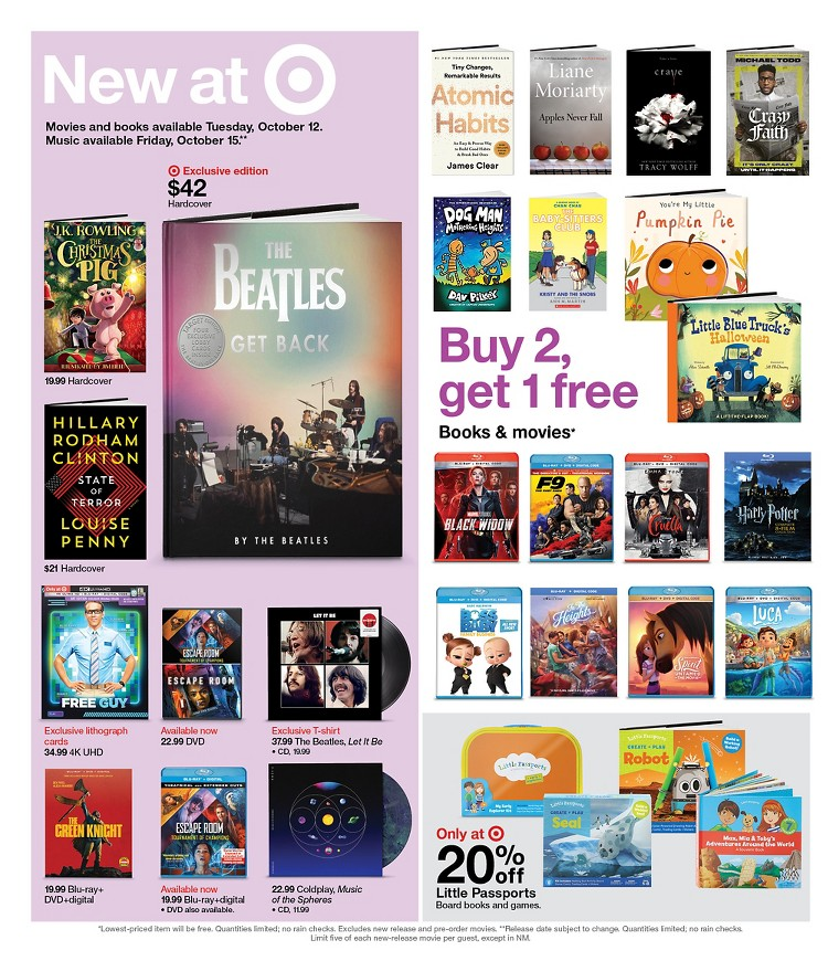 10.10.2021 Target ad 19. page