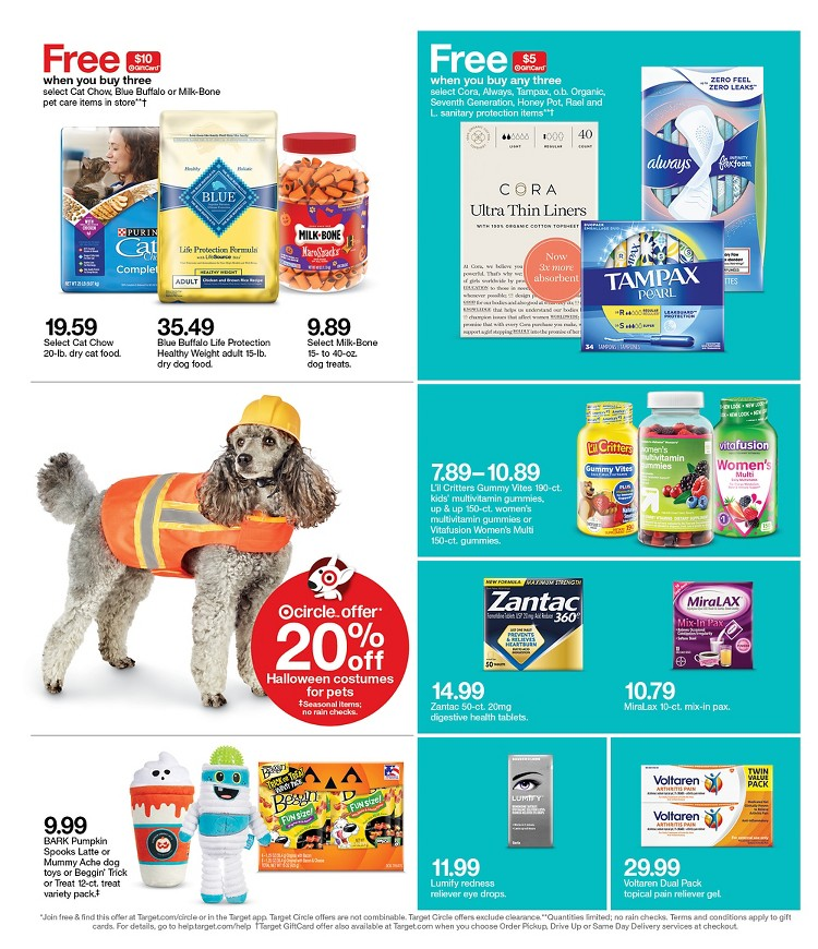 10.10.2021 Target ad 21. page