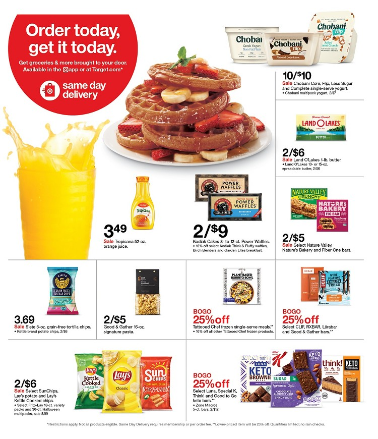 10.10.2021 Target ad 28. page