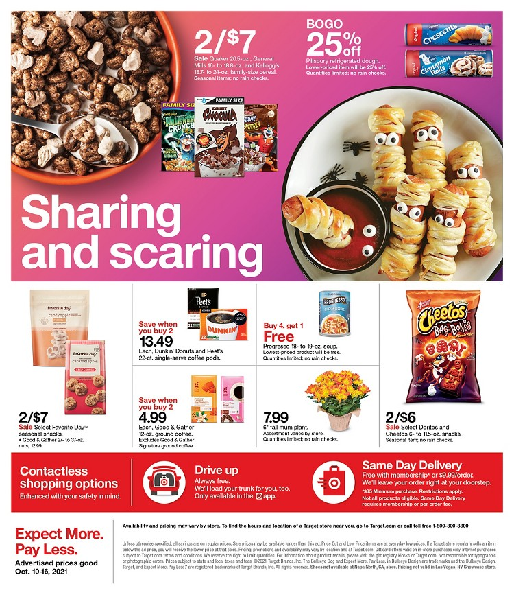 10.10.2021 Target ad 30. page